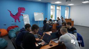 students at hackaton