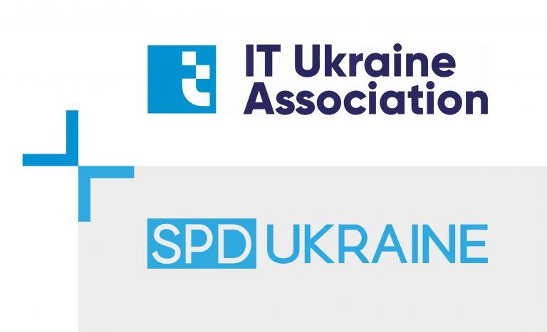 IT Ukraine and SPD-Ukraine logo
