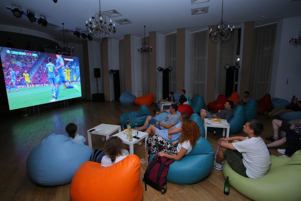 Football watching