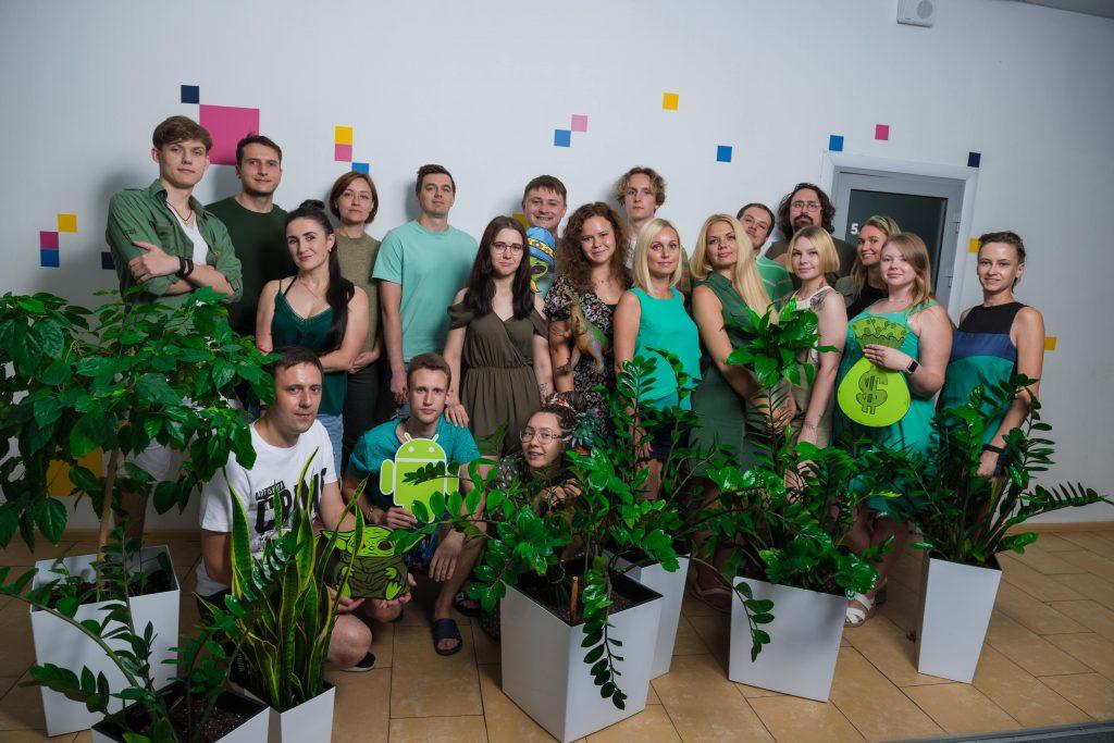 SPD People in green